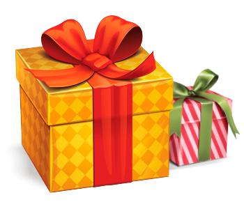 Как сделать подарок клиенту?